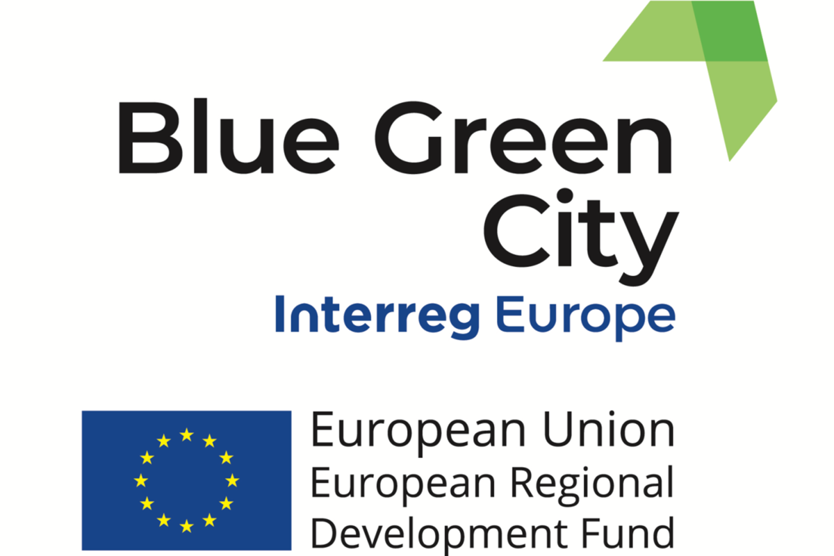 Blue Green City Logo